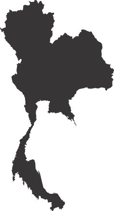 Thailand Map Map Vector transparent image