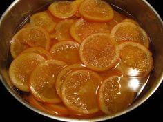 Orangettes et oranges confites