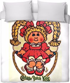 Cabbage Patch Kids duvet cover