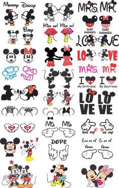 Vectores y otras cosas Mickey Mouse Stickers, Mickey Mouse Art, Mickey Mouse Wallpaper, Mickey Y Minnie, Disney Mickey, Cute Stickers, Disney Wallpaper, Iphone Wallpaper, Mickey Tattoo
