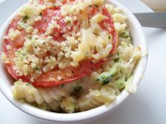Beer. Butter. Bacon.: Herbed Tomato Crusted Mac and Cheese
