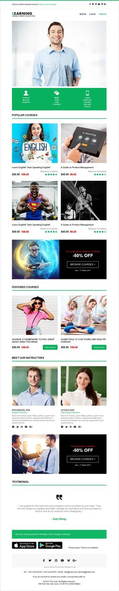 Cord Email Template  Online Emailbuilder   Cleanses Design