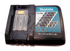52422 tools MAKITA DC18RC LITHIUM & NI-MH 7.2V-18V LXT BATTERY CHARGER 110V NEW  BUY IT NOW ONLY  $33.38 MAKITA DC18RC LITHIUM & NI-MH 7.2V-18V LXT BATTERY CHARGER 110V NEW...