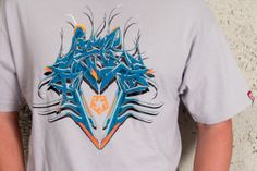 2006 t-shirt design for Tribal gear. 2D Semi Circle Wildstyle Tribal by Misk1