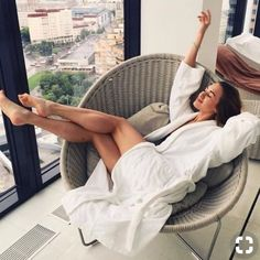 sometimes it just feel good to cozy up in a plush bathrobe, and drape myself across the nearest piece of furniture. Cosy Living, Easy Like Sunday Morning, Lazy Morning, Relax, Foto Instagram, Lazy Days, Sexy Feet, Belle Photo, Photography Poses