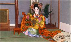 太夫 Tayuu of Shimabara by Naomi no Kimono Asobi, via Flickr