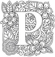 Craft delicate charm with this mehndi style alphabet! Designs download as PDFs; use pattern transfer paper to trace designs for hand-stitching.