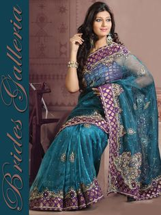 Teal Blue Glass Tissue Saree : Latest Designer Sarees , Anarkali Suits, Salwar Kameez with duppata, Bridal lehenga Choli, Churidar Kameez, Designer Indian Saree Online Store, Wedding Lehenga Choli, Designer Salwar Kameez, Churidar Kameez,