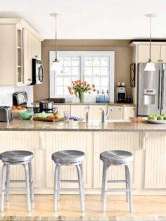 Great stainless steel stools.