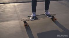 e-go cruiser. smart skateboard. demo at CES