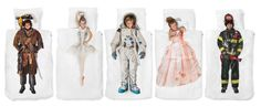 Dekbedovertrek, ook voor de kids! Wat dacht je van een #prinsessenjurk, #brandweer #outfit of #astronautenpak waarbij het net lijkt of de kleine zelf de kleding draagt?
