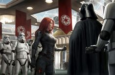 Awesome Set of STAR WARS Art by David Tan — GeekTyrant