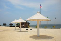 What used to be a barren islet off Baranggay Bato in Sta. Cruz, Davao del Sur has been turned into a beach resort. Officially called the Passig Islet Aqua-Eco Park Resort. Park Resorts, Beach Resorts, Davao, Pinoy, Philippines, To Go, Aqua, Places, Outdoor Decor