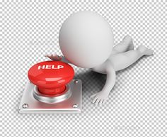 Buy Small People - Help Button by AnatolyM on GraphicRiver. small person reaches for help button. Transparent high resolution PNG with shadows. Powerpoint Animation, Black Phone Wallpaper, 3d Icons, 3d Man, Positive Art, Sculpture Lessons, School Clipart, Free Website Templates, Mom Cards