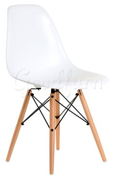 Eames DSW Chair-White