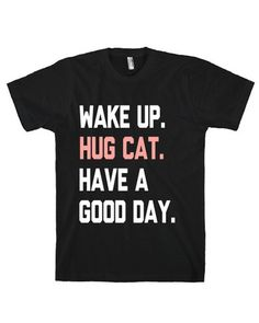 OMG!!!!! Check out what I found on Shop Jeen.com!!! What do you think?!?! HUG CAT TEE