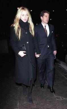 Carolyn Bessette Kennedy.  Bought my first Prada sweater after seeing her wearing it