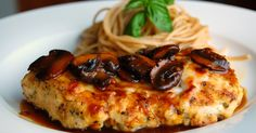 Looking for Italian chicken main dishes? Allrecipes has more than 280 company-worthy recipes like chicken Marsala, chicken cacciatore, chicken piccata, and other favorites. Best Chicken Marsala Recipe, Cooking Recipes, Healthy Recipes, Wine Recipes, Healthy Food, Meal Recipes, Healthy Chicken, Diabetic Recipes, Pasta Recipes