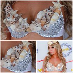 Mermaid bra