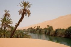 The Sahara Desert, Africa
