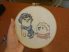 Otterlock and Hedgejohn - NEEDLEWORK - Knitting, sewing, crochet, tutorials, children crafts, papercraft, jewlery, needlework, swaps, cooking and so much more on Craftster.org