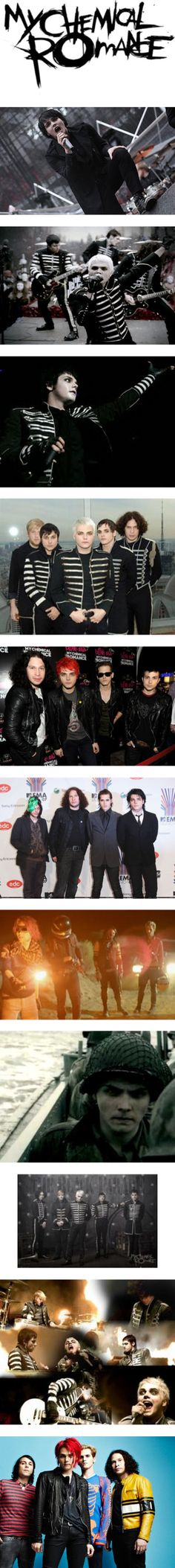 """""""My Chemical Romance."""" by christofer-anon on Polyvore. I still can't believe that MCR has stopped being a band :/"""