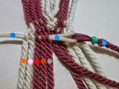 Inkle Loom, Loom Weaving, Tablet Weaving, Crochet Stitches, Braids, Pouch, Tapestry, Tattoos, Bracelets