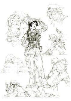 Nävis - Sillage ✤ || CHARACTER DESIGN REFERENCES | キャラクターデザイン | çizgi film • Find more at https://www.facebook.com/CharacterDesignReferences & http://www.pinterest.com/characterdesigh if you're looking for: bandes dessinées, dessin animé #animation #banda #desenhada #toons #manga #BD #historieta #sketch #how #to #draw #strip #fumetto #settei #fumetti #manhwa #anime #cartoni #animati #comics #cartoon || ✤