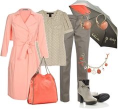 """Días de Lluvia"" by outfits-de-moda2 ❤ liked on Polyvore"