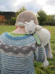 rounding up the sheep pattern, ravelry