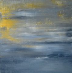 10x10 Small Abstract Painting Abstract by PuzzledbyArtmondo