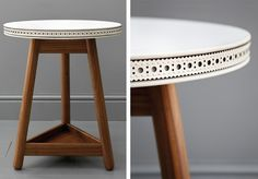 Brogue Side Table | G by Bethan Gray [extreme, massive love]