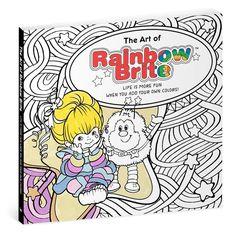 New coloring book!!!!!  Rainbow brite  Janny brite