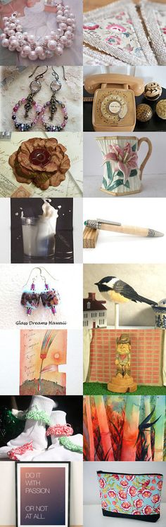 Do It With Passion! by Sylvia Cameojewels on Etsy--Pinned+with+TreasuryPin.com