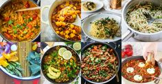 These 30 easy vegan one pot meals are perfect for busy days! All of these recipes are complete meals that are made in only one cooking vessel. So yummy!!