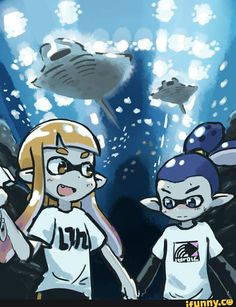 Splatoon 2 Game, Nintendo Splatoon, Nintendo Games, Third Person Shooter, Fanart, Super Smash Bros, Equestria Girls, Horror Movies, Video Games