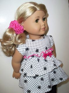 Mix and Match Leggings -Top and Skirt American Girl Doll Clothes/ Dresses