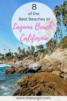 Laguna Beach, California has over 20 beaches to explore. Some of them are in secluded coves, hidden in residential areas, have sea caves and tide pools to explore, and even one with a mystical tower. This list of the best beaches in Laguna Beach will help you decide which beach to visit during your trip to Orange County, California. #lagunabeach #orangecounty via @That OC Girl
