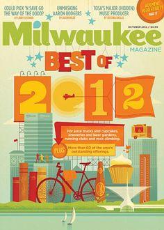 #houseofmagazines | Milwaukee Mag (US)