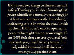 INFJ || Truth.