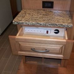 Kitchen Cell Phone Charging Design Ideas, Pictures, Remodel, and Decor