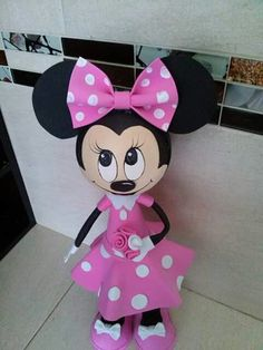 Fofucha Minie mouse
