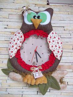 relógio coruja 2