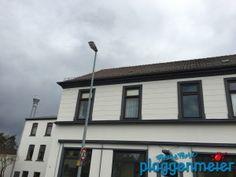 Schnell Fotos, bevor die Werbung angebracht wird - Fassadensanierung in Hemelingen vom Bremer Profi!