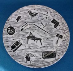 """The """"Homemaker"""" dish pattern by british company Ridgway & Adderly by Midwinter"""
