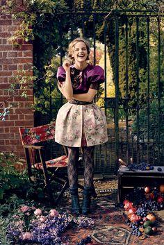 MOVIN' LIKE A ROCKSTAR.: Emma Watson by Norman Jean Roy