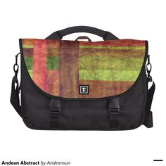 Andean Abstract Laptop Computer Bag