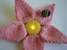 Flower Power Knit Applique