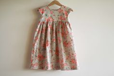 the craft sessions, Geranium Dress by Made by Rae