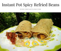 INSTANT POT SPICY REFRIED BEANS